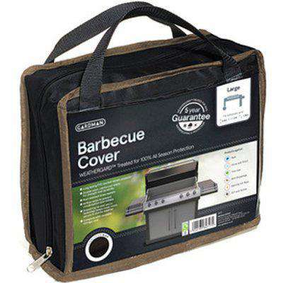 Barbecue Cover - Black / Large barbecue