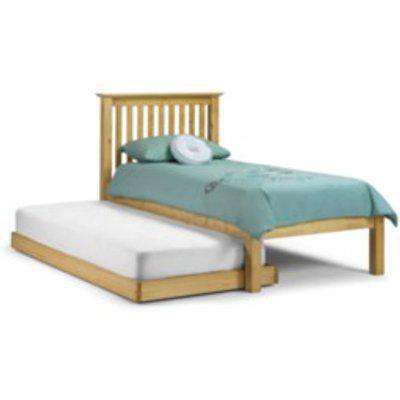 Barcelona Hideaway Bed Frame with Trundle - Pine