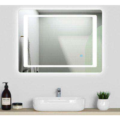 Bathroom Mirror LED Illuminated with Demister - 120cm