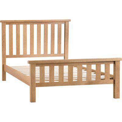 Bisbrooke Country Oak Bed - Medium Oak - Super King