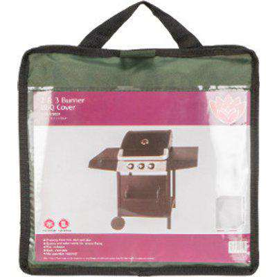 2 and 3 Burner BBQ Cover - Green
