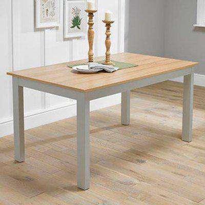 Burton Dining Table - Grey/Oak