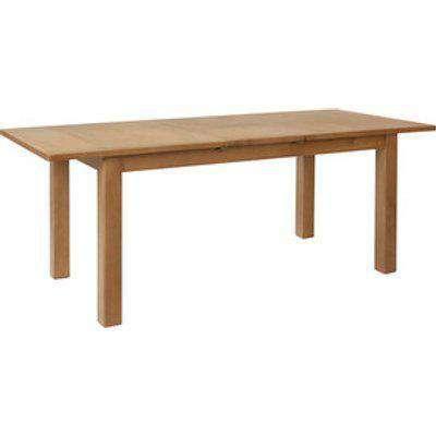 Cambridge 1.6 M Extending Dining Table - Rustic Oak