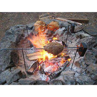 Camp Fire BBQ Rotisserie - Black