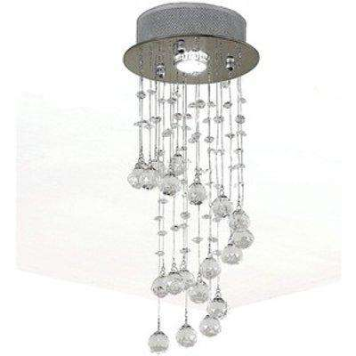 Ceiling Chandelier - Silver
