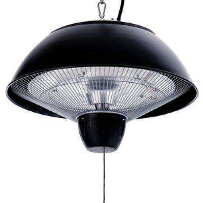 Ceiling Electric Patio Heater - Black
