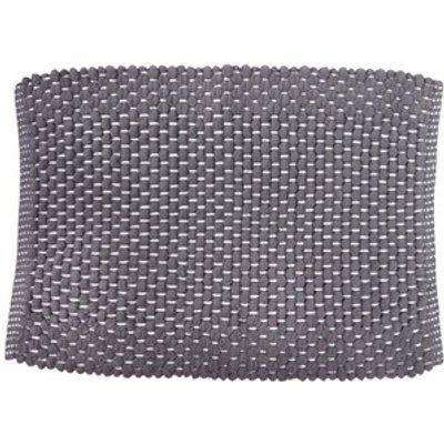 Chenille Bath Mat 100 Percent Cotton - Grey