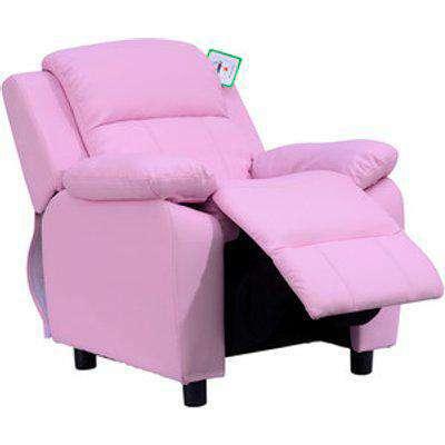 Children Recliner Armchair  - Pink