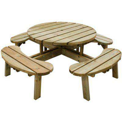 Circular Picnic Table - Without backrests