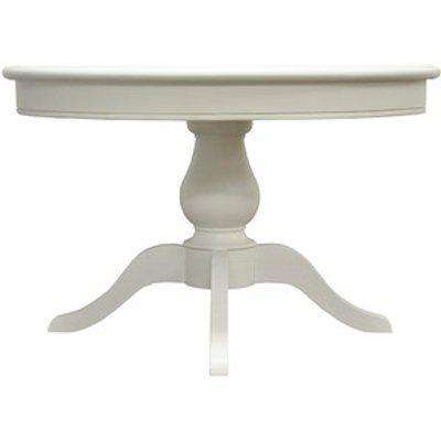 Classic Round Dining Table - Antique White