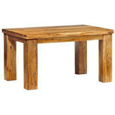 Classic Style Acacia Wood Small Dining Table - Natural