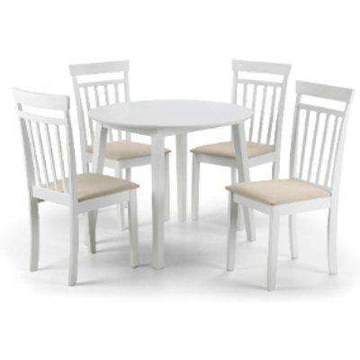 Coast Dining Table and 4 Chair Set