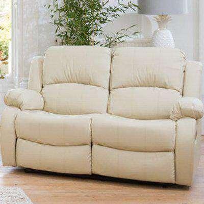 Copthorne 2 Seat Recliner Sofa - White