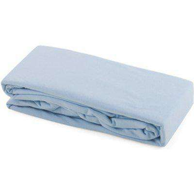 Cot Bed Cotton Duvet Cover - Blue