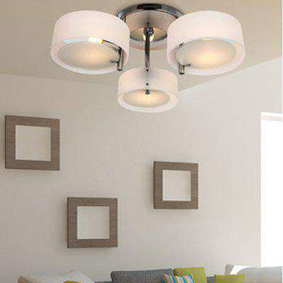 Crystal Chandelier Lighting - White
