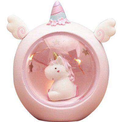 Cute Unicorn Night Light  - Pink