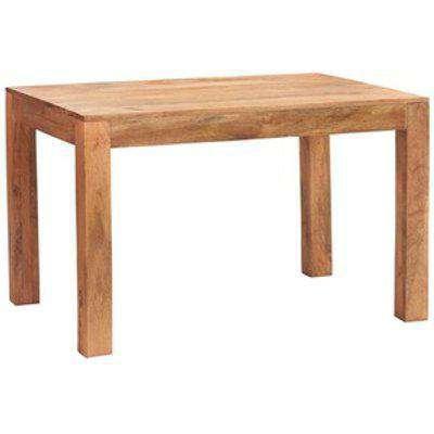 Dakota Light Mango Small Dining Table 4ft  - Light Wood