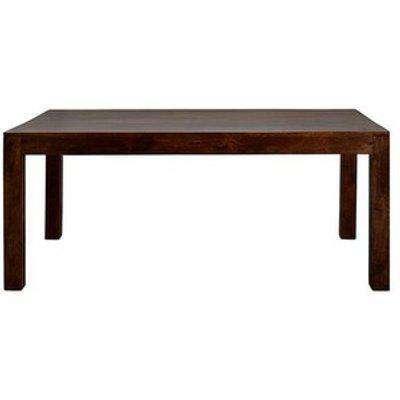 Dakota Mango Large Dining Table 6ft  - Dark Wood