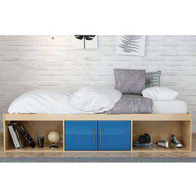 Dakota Oak Cabin Bed - Blue