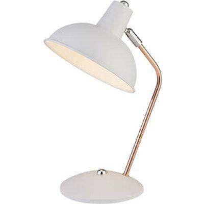 Desk Arc Desk Lamp - Copper & White