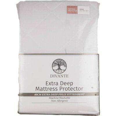 Divante Extra Deep Mattress Protector - Single