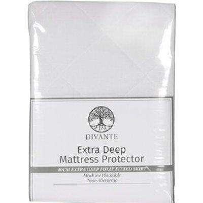 Divante Extra Deep Mattress Protector - Double