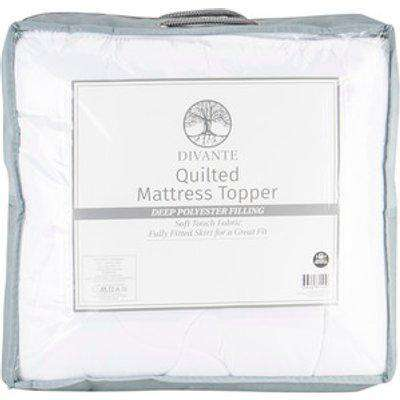Divante Quilted Mattress Topper - Double