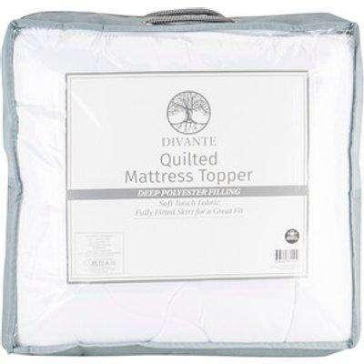 Divante Quilted Mattress Topper - King