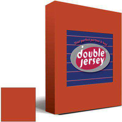 Double Jersey Fitted Bedsheet Terra  - Terra / King