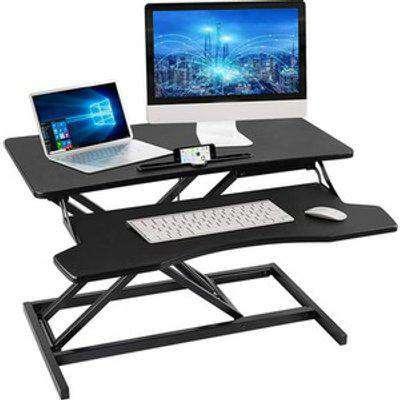 Double Layer Adjustable Standing Desk