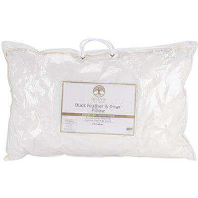 Soft Duck Feather and Down Pillow - White