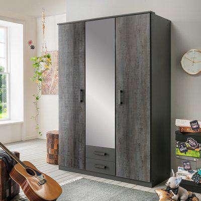 Duisberg 4 Door Wardrobe - Digi Steel