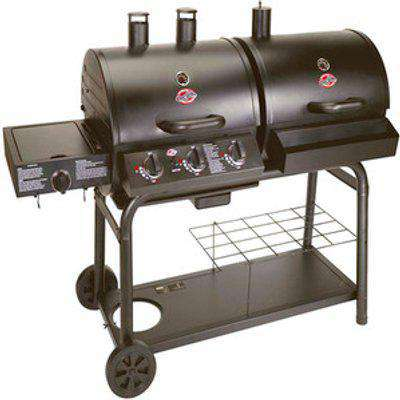 Duo Gas And Charcoal Bbq