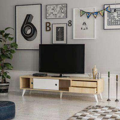 Eduardo - TV Stand - Oak