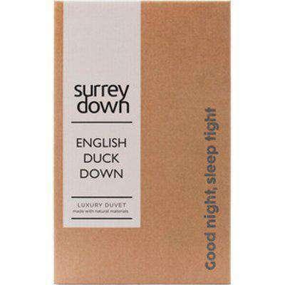 English Duck Down Duvet - White / Double / 200cm / 4.5