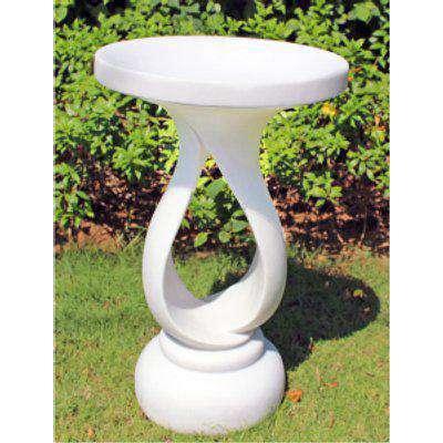 Enigma Contemporary Bird Bath Marble