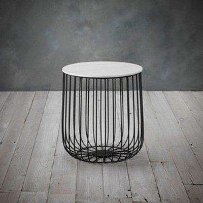 Enzo Cage Side Table - Black / Small