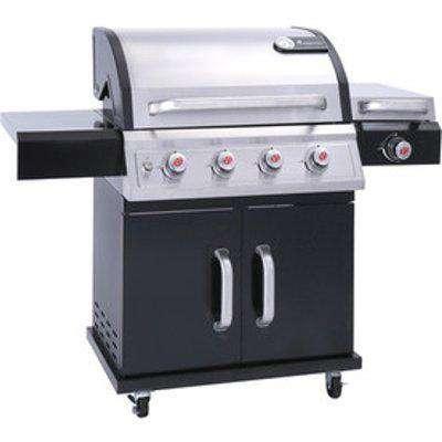 Falcon 4.1 Pts Gas Barbecue 12664 - Silver/Black
