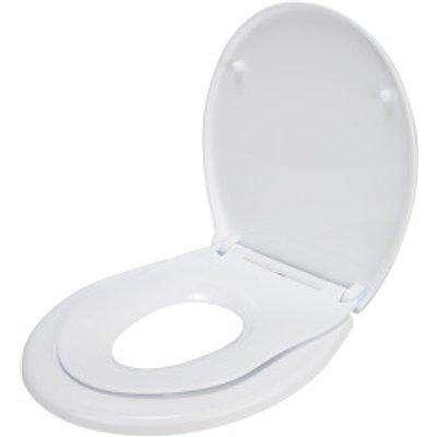 Family Round Toilet Seat - White