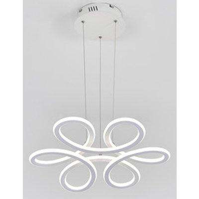 Floral LED Chandelier - Cool White