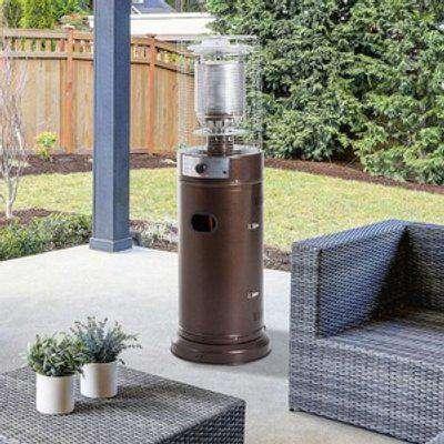 Freestanding Outdoor Gas Patio Heater - Brown