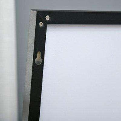 Full Length Mirror Floor Standing or Wall Mount Dressing Mirror - Black