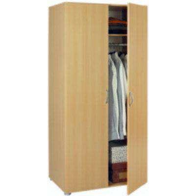 Fusion Two Door Wardrobe - Oak