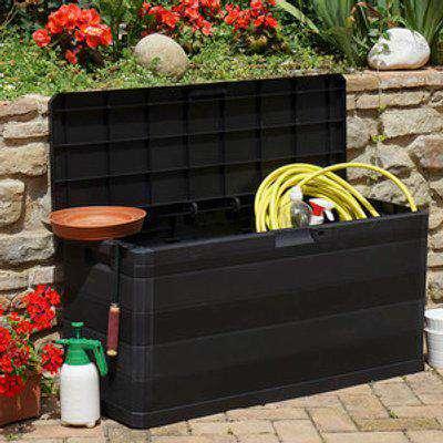Grey Garden Storage Box - 280l