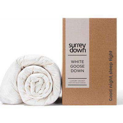 Goose Down Duvet - White / Super King size / 10.5