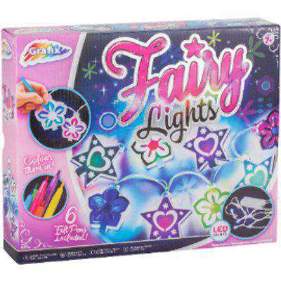 Grafix Create Your Own Fairy Lights Craft Kit