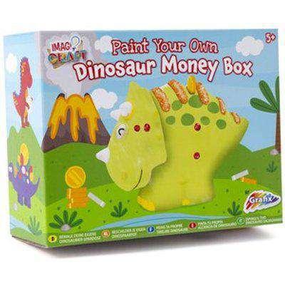 Grafix Paint Your Own Dinosaur Money Box