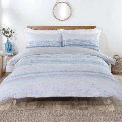 Marlow Stripe Duvet Cover and Pillowcase Set - Single