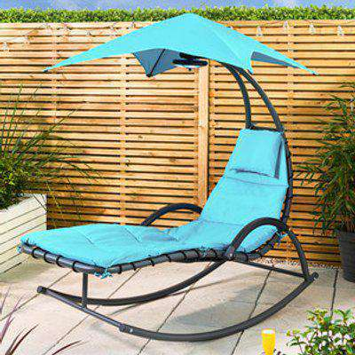 Helicopter Garden Chair - Blue