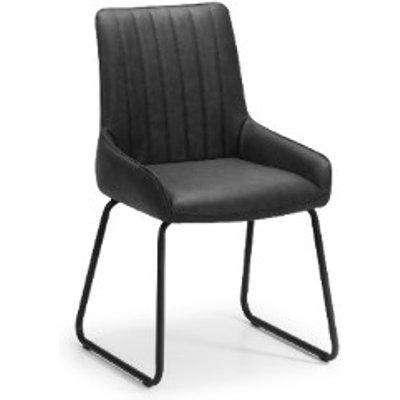 Hudson Dining Chair - Black